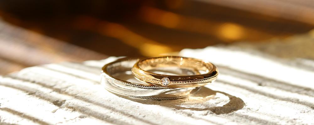 手作り結婚指輪 彫金コース