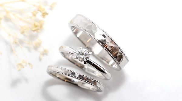 神戸元町彫金工房の手作り結婚指輪・婚約指輪