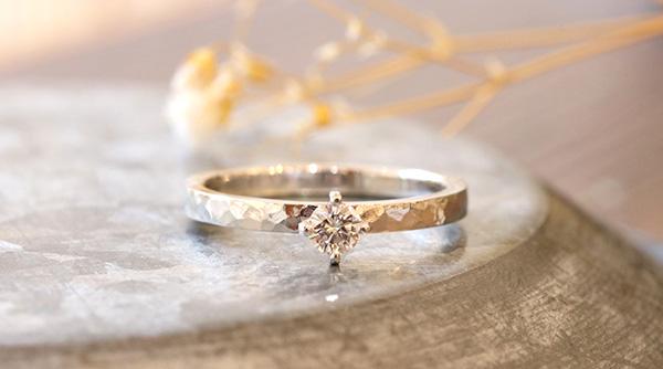 神戸元町彫金工房の手作り婚約指輪 彫金コース